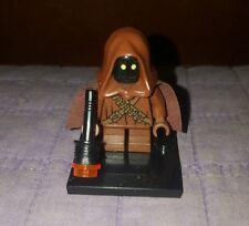 Authentic LEGO Star Wars Jawa Minifigure (Small Eyes) sw141 10144 Sandcrawler