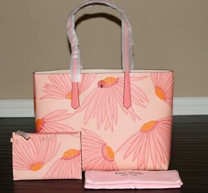 💚 Kate Spade Molly Large Tote Bag Shoulder Purse & Wristlet Set Handbag Pink