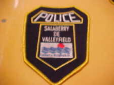 CANADA SALABERRY DE VALLEYFIELD  POLICE PATCH TYPE 2