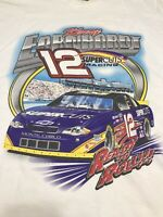 Vintage Kerry Earnhardt Double Sided NASCAR Shirt Chase Authentics Racing 2XL
