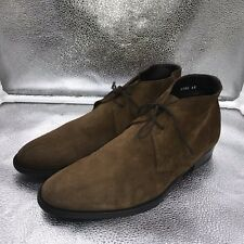 🌟Russell & Bromley Size 6 40 Brown Suede Poplar Desert Boots Mens Mod