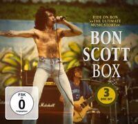 AC/DC - BON SCOTT BOX  2 CD+DVD NEU