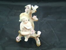 Unique Handpainted ANDREA Occupied Japan CHERUB Angel Figurine