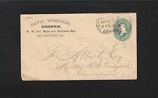 David Woerner Cooper Barrels San Francisco CA 1892 PSE Cover 5r