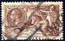 Sg 450 N73/2 1934 2s6d Reddish brown Waterlow Re-engraved Used Parcel Cancel