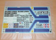 Tamiya 56304 Globe Liner, 9495186/19495186 Decals/Stickers, NIP