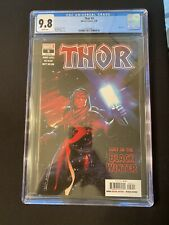 Thor #5 CGC 9.8 1st Print First Appearance Of The BLACK WINTER!