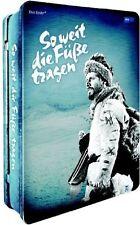 SO WEIT DIE FÜSSE TRAGEN - METALLBOX  4 DVD NEU  WOLFGANG BÜTTNER/HEINZ WEISS/+