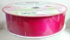 New Huge Roll Of Wire-Edge Pink Ribbon All Occasion Gift Wrapping Baskets