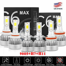 mini Combo 9005+H7+H11 CREE LED Headlight Kit for Mazda3 2004-06 Mazda 6 2011-13