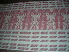 Handspun red blue Hand weave Old Sumba Hinggi Warp Ikat Tapestry throw