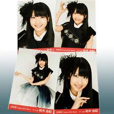 """Yuki Kashiwagi """"AKB48 Theater 2012 March"""" 4 photos complete set"""