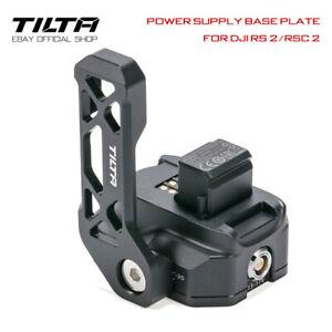 Tilta Power Supply Base Plate RS2 Gimbal Charger P-tap 2-pin TGA-PBP For DJI RS2