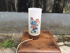 Vintage Retro Kitsch Nursery Decal Lamp