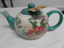"""New listing The Pioneer Woman """"Country Garden"""" Tea Pot - New - Perfect Condition"""