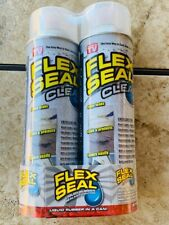 Flex Seal Liquid Rubber Sealant Coating 2 Pack 14 Oz Each Clear Aerosol