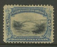 USA Series 1901 5c Stamp Old US LM Mint Example Ex-Old Time American Collection