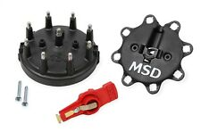MSD Ignition 84823 Distributor Cap And Rotor Kit Black Ford Tfi V8 8482