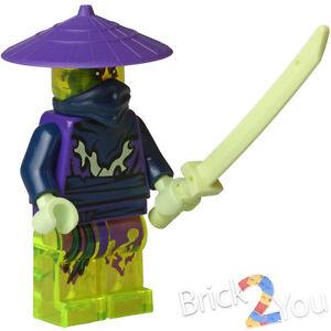 Lego Ninjago Ghost Warrior Pyrrhus w/ Weapon 70730 Chain Cycle Ambush