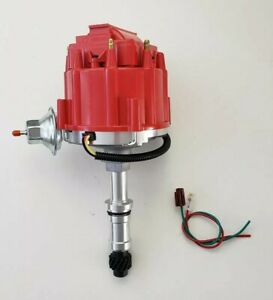 BUICK ODD FIRE 231 JEEP DAUNTLESS 225 RED HEI DISTRIBUTOR + 65,000 VOLT COIL