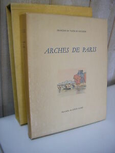 Vaux de Foletier & Louis SUIRE : ARCHES DE PARIS 1960