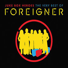 FOREIGNER - JUKEBOX HEROES - VERY BEST GREATEST HITS 2CD VERSION