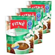 3xWeight Loss Instant Coffee Fitne Diet Fat Burn White Kidney Bean Slim 10Sachet