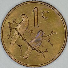 South Africa 1 Cent 1976 Uncirculated *~*Nicely Toned*~*