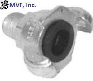 """3/4"""" Male NPT Universal Crowfoot Coupling Chicago Fitting Plated Iron SFM075"""
