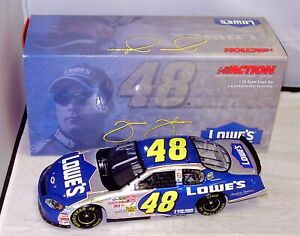 1:24 ACTION RCCA 2003 #48 LOWE'S MONTE CARLO SS JIMMIE JOHNSON RARE 1/1500 MIB