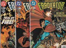 ERADICATOR #1-#3 SET (NM-) DC COMICS