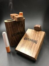"Handmade 3"" Wooden Dugout With 3"" Aluminum One Hitter USA Fast Shipper!"