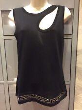 Women's Versace black top size 42