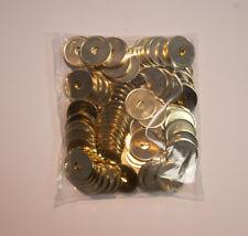 Trimeta Münzen, 23,25x1,5mm, gelocht, 100 Stück, Wertmarke, Einkaufswagenchip