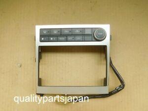 NISSAN SKYLINE V35 Double Din Console Panel INFINITI G35 2 Din 2005-2007 Navi