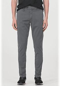 Pantalone uomo man model slim ankle kerr marca Antony Morato colore london gray