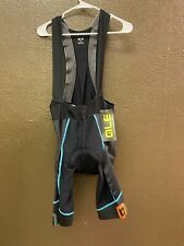 Alé Cycling PRS Labs Bibshorts - Turquoise/Orange - Men's