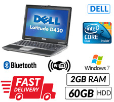 Cheap Laptop Dell Latitude D430 C2D 2GB 60GB WIN 7 WiFi ChargerNext Day Delivery