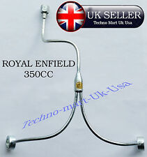 Neue Royal Enfield Bullet Rocker-Ölzufuhrleitung 350cc # @UK