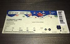 Sammler Used Ticket #8 Germany Chile Deutschland Confed Cup 2017