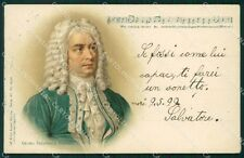 Musica Spartito Georg Friedrich Handel cartolina QT5331