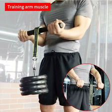 Training arm muscle, arm muscle fitness device, roll rope arm grip arm