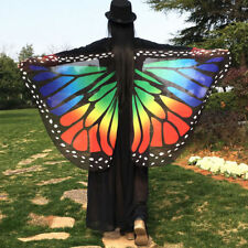 Butterfly Wings châle Fée Costume Nymphe Pixie Bikini Cover Up beachtowel/Festi