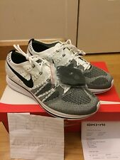 64737e32b5844 Nike Flyknit Trainer White Black US Size 11.5