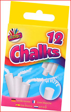 Chalks in Hanging Box - White Pack of 12