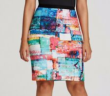 Karen Kane Plus Size Full Spectrum Stretch Scuba Pencil Skirt - MSRP $80