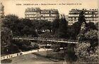 CPA PARIS 19e Buttes -Chaumont - Le Pont suspendu et le Lac (302083)