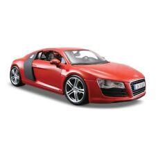 Artículos de automodelismo y aeromodelismo Maisto color principal rojo Audi