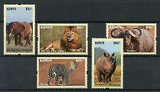 Kenya 2017 MNH Big Five 5v Set Rhinos Elephants Lions Wild Animals Stamps
