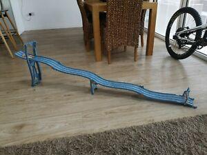 Hot Wheels Track Rare 3 Lane Raceway Carry Case Handle Downhill